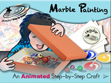 Marble Painting - Animated Step-by-Step Craft - Regular