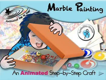 Marble Painting - Animated Step-by-Step Craft SymbolStix