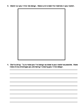Marble Run Lab Sheet