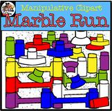 Marble Run (Manipulative) Clipart