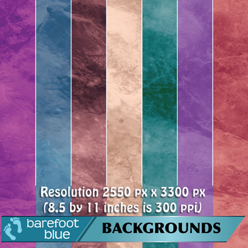 Marble Stone Backgrounds/Digital Papers/Printables