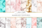 Marble Textures Digital Paper Background Marble and gold p