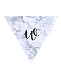 Marble Welcome Banner