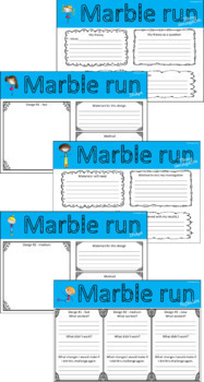 Marble run challenge technologies investigation for STEM or Maker Space