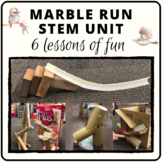 Marble run challenge and investigation for STEM