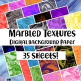 Bulletin Board Background Paper - Marbled Textures