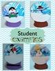 FREE Winter Activity - Shaving Cream Marbleized Paper Snow Globes.