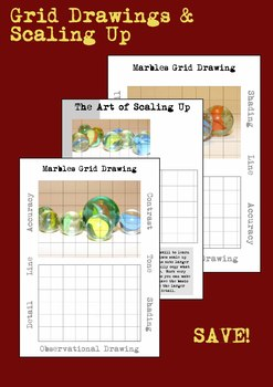 Marbles Grid Drawings