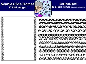 Marbles Sides {Side-Only Frames}