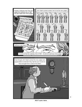 Marbury V Madison Comic