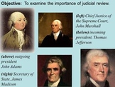 Marbury v. Madison Activity Guide (Includes review PPT and Notes)