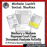Marbury v Madison Supreme Court Case Document Primary Sour
