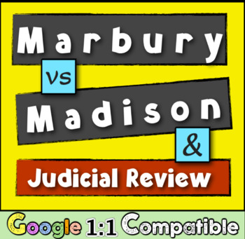 Marbury vs Madison: The establishment of the principle of Judicial Review!