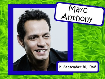 Marc Anthony: Musician in the Spotlight