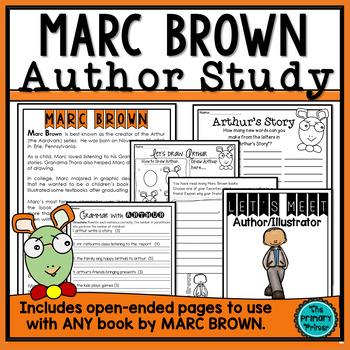 "Marc Brown:  An ""Arthur"" Study"