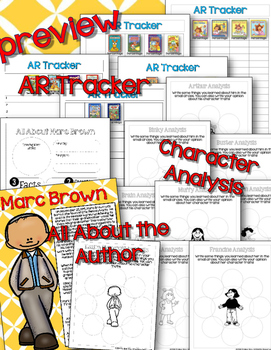 Marc Brown Author & Book Study