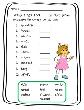 Marc Brown and Arthur's April Fool Pack