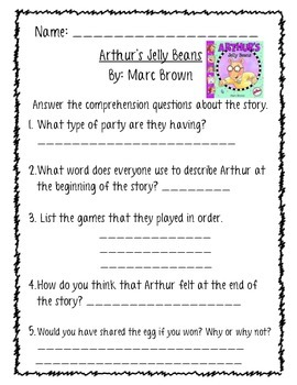 Marc Brown and Arthur's Jelly Bean Pack