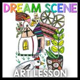 Art Lesson: Marc Chagall Art Game | Art Sub Plans
