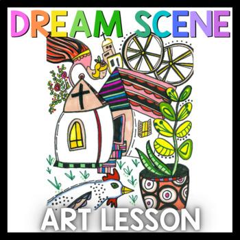 Art Lesson: Marc Chagall Art Game   Art Sub Plans