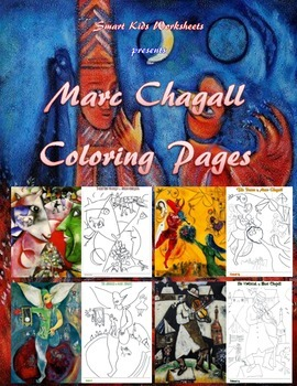 Marc Chagall Coloring Pages (Portrait)