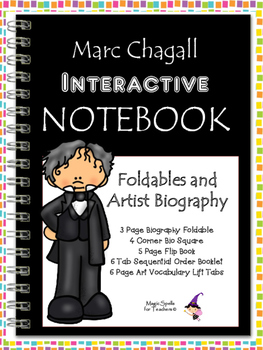 Marc Chagall Interactive Notebook Foldables