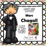 Marc Chagall Activities- Famous Artist Biography Art Unit