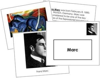Marc (Franz) Art Book