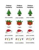 Marca Libros de Palabras de Navidad