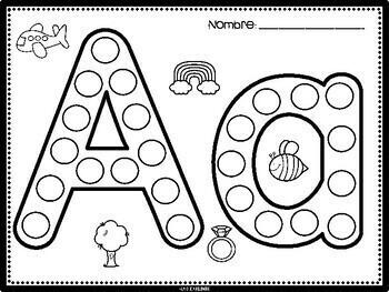 Marca el alfabeto / Dab the Alphabet