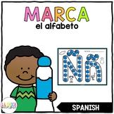 Marca el Alfabeto (Dab the Alphabet in Spanish)