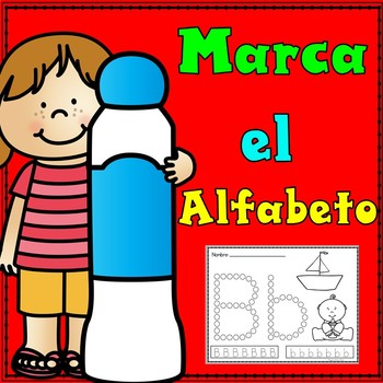 Marca el alfabeto:  Dab the Spanish Alphabet