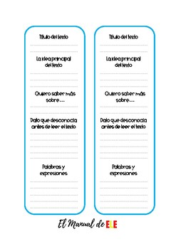 Marcadores de comprensión textual