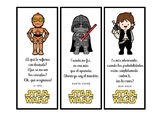 Marcapáginas de Star Wars