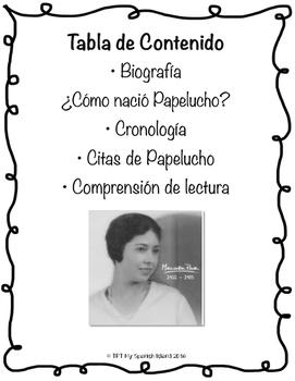 Marcela Paz was../fue...
