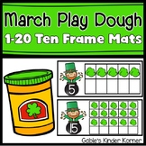 March 1-20 Play Dough Ten Frame Mats