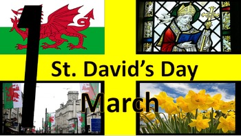 March 1: St David's Day 2106