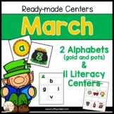 March: 11 Ready-made Literacy Centers