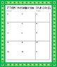 March 2 Digit by 1 Digit Multiplication Task Cards
