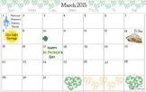 March 2015 Calendars