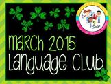 March 2015 Language Club