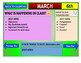 March 2021 Interactive Calendar/Lesson Planner-For any Class (Google Slides)