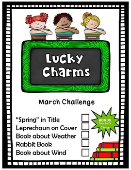 March Activities Reading Challenge