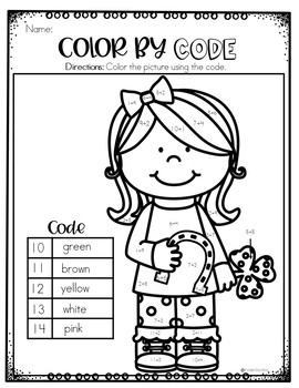 Color by Code March