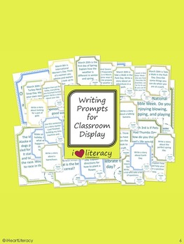 Writing Prompts March 2nd Grade Common Core