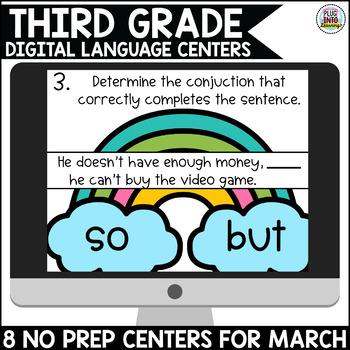 March 3rd Grade Digital Language Centers