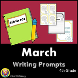 Writing Prompts March 4th Grade Common Core