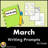 Writing Prompts March 5th Grade Common Core