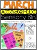 March Academic Sensory Bin