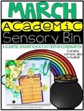 March Academic Sensory Bin